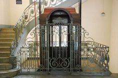 Antique Elevator by glimyoncamera