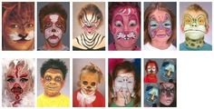 Face Painting Design | Pictures