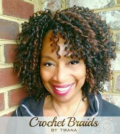 Crochet Braids Pulled Back : Crochet braids, Dreads and Braids on Pinterest