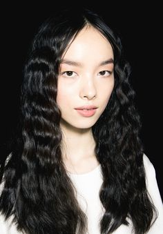 Backstage at Anna Sui S/S 2014