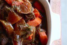 Chinese beef and turnip stew