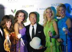 Miss DC 2011 Ashley Boalch, Jana Sedlakova, Co-Chair Robert Do, Miss Maryland 2011 Allyn Rose, and Miss DC 2010 Jen Corey