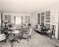 1920s Living Room | 1920's -- Living room. | History buff stuff