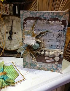 From the Tim Holtz Booth CHA 2014