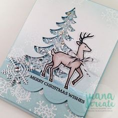 Santa's Sleigh from Stampin' Up!