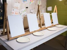 DIY Network shares tips for hosting a fun, kid-friendly painting party. Get ideas for your next birthday party or special occasion. Painting For Kids, Diy Painting, Outdoor Painting, Summer Painting, Outdoor Art, Kid Friendly Paint, Wine And Paint Night, Painting Station, Art Station