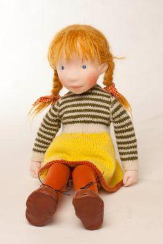 Nola  Handmade cloth doll by AldegondeCeelen