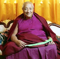 """His Holiness Dilgo Khyentse Rinpoche: """"The Buddha is not going to project you to Buddhahood, as if throwing a stone. He is not going to purify you, as if washing a dirty cloth, nor is he going to cure you of ignorance, like a doctor administering medicine to a passive patient. Having attained full enlightenment himself, he is showing you the path, and it is up to you to follow it or not. It is up to you now to practice these teachings and experience their results."""""""