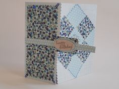 Quilt Patch Card by Phillipa Lewis.