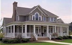 farmhouse floor plans with wrap around porch - Bing Images
