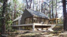 Dom W / STOPROCENT Architekci – nowoczesna STODOŁA | wnętrza & DESIGN | projekty DOMÓW | dom STODOŁA