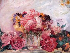 James Ensor, Fleurs ou Les roses, 1892