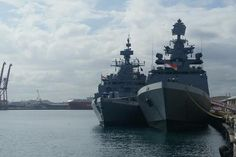 Indian Navy Vessels Dock in Fremantle, Australia Indian Navy Ships, Armed Forces, Corvette, June, Boat, Ocean, Training, Australia, Projects