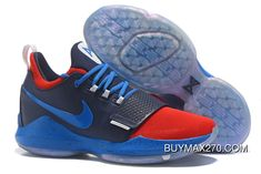 huge discount d2e3f 679b1 Nike Zoom PG 1 Navy Blue Red Copuon