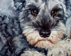 CouchPotato custom Dog Paintings Pet Portraits by puciPetPortraits