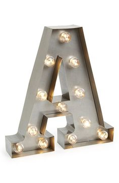 Free shipping and returns on BESTTIME Letter Lights at Nordstrom.com. Long-lasting LED lights illuminate vintage-inspired, marquee-style letters that can be hung or placed on a table to personalize your space.