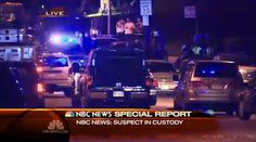 It's over: Boston bombing suspect in custody, police say (Photo: NBC News) #BostonMarathon #BostonManhunt