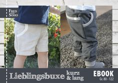 Kombi-Ebook Lieblingsbuxe kurz & lang von Fred von SOHO auf DaWanda.com