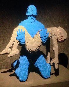 Exposición en Barcelona: The Art of Break. #lego #sculpture #art #legostagram #legophotography #legostagram #legoart #legoartist #catalunyaexperience #exposicion #arte #escultura #theartofthebrick #igers #picoftheday #artisticphoto by gustavo_manzanera