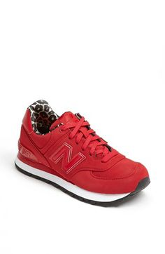 New Balance '574' Sneaker (Women) available at #Nordstrom - Would look great with rolled up jeans and parka