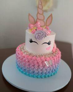 58 Trendy Chocolate Cake Design Birthday How To Make - trend torte 2018 - Kuchen Cookies And Cream Cake, Cake Mix Cookies, Chocolate Cake Designs, Cake Chocolate, Cake Pops, Unicorn Themed Birthday, Unicorn Party, Unicorn Cakes, Unicorn Baby Shower