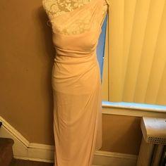 e1d8f3aea8f David s Bridal Petal Pink Formal Bridesmaid Mob Dress Size 8 (M) 38% off  retail