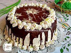 A méteres kalács a nagy kedvencünk, de a tortavariációja még finomabb lett! No Bake Cake, Tiramisu, Food And Drink, Birthday Cake, Cupcakes, Meals, Cookies, Baking, Ethnic Recipes