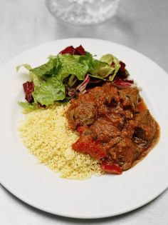 Give Jamie's Mediterranean braised lamb a go for a simple and hearty lamb couscous recipe in a rich tomato sauce.