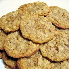Oatmeal Toffee Cookies.