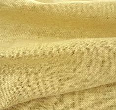 Tan/Beige Jute Crafting and Sewing Fabric