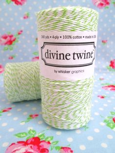 Green Apple Divine Twine Bakers Twine
