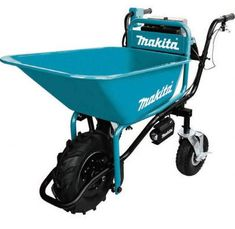 Makita LXT Lithium-Ion Brushless Cordless Power-Assisted Wheelbarrow - The Home Depot - Modern Design Motorized Wheelbarrow, Powered Wheelbarrow, Steel Bucket, Makita Tools, Cordless Tools, Recycling, Easy Install, Cool Tools, Working Area