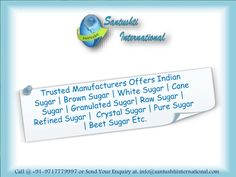 Have a look our PPT on Brwon Sugar