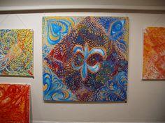 Jasmina Vladimirova, Exposition de Peintures à l'Huile sur toile, Galerie Aktuaryus à Strasbourg 2005 (12)