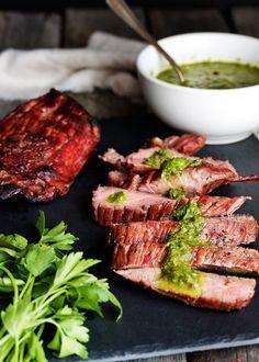 Flank Steak & Chimichurri