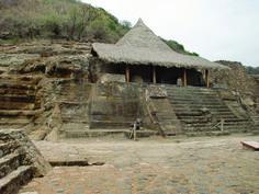 Templo de Malinalco.