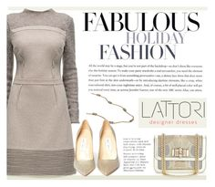 """""""Lattori V"""" by mihreta-m ❤ liked on Polyvore featuring Lattori, Abercrombie & Fitch, Christian Louboutin and Jimmy Choo"""