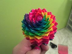 Duct tape flower i made :)