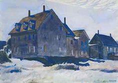 Edward Hopper - Haunted House