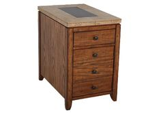Homemakers Furniture: Chairside Table: Lane Case Goods: Living Room: Occasional Tables