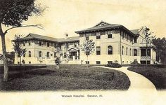 Wabash Railroad Hospital, Decatur, IL