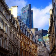 #old and #new #thecheesegrater #london by yorkshiretraveller