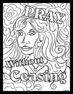 pray without ceasing coloring page 1000 images about coloring pages for learning on