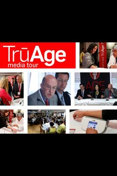 TruAge scientists meet with the national media in NYC!