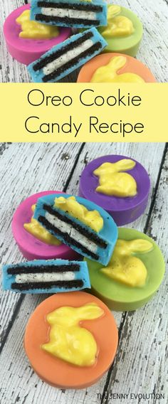 Prepare to wow your family! This Oreo Candy Recipe is going to make people swoon. And you can easily use different molds to match the current holiday! Best Dessert Recipes, Candy Recipes, Brownie Recipes, Holiday Recipes, Cookie Recipes, Delicious Desserts, Yummy Food, Bar Recipes, Spring Recipes