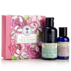 Balance Rose & Geranium Organic Collection