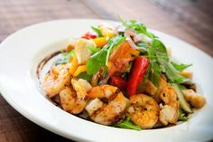 A scrumptious dish from Bull Street Gourmet…can't you just TASTE the shrimp?