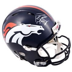 Peyton Manning Denver Broncos Fanatics Authentic Autographed Riddell Pro-Line Revolution Authentic Helmet with Manning Mask