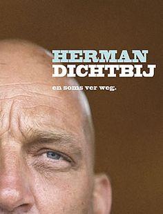 """Boek """"Herman dichtbij"""" van Herman den Blijker  www.kopgroepbibliotheken.nl"""