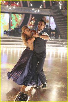 James Maslow and Peta Murgatroyd Dance the Foxtrot on #DWTS Week 1 (3/17/14)